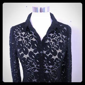 Final price! Bcbg lace top